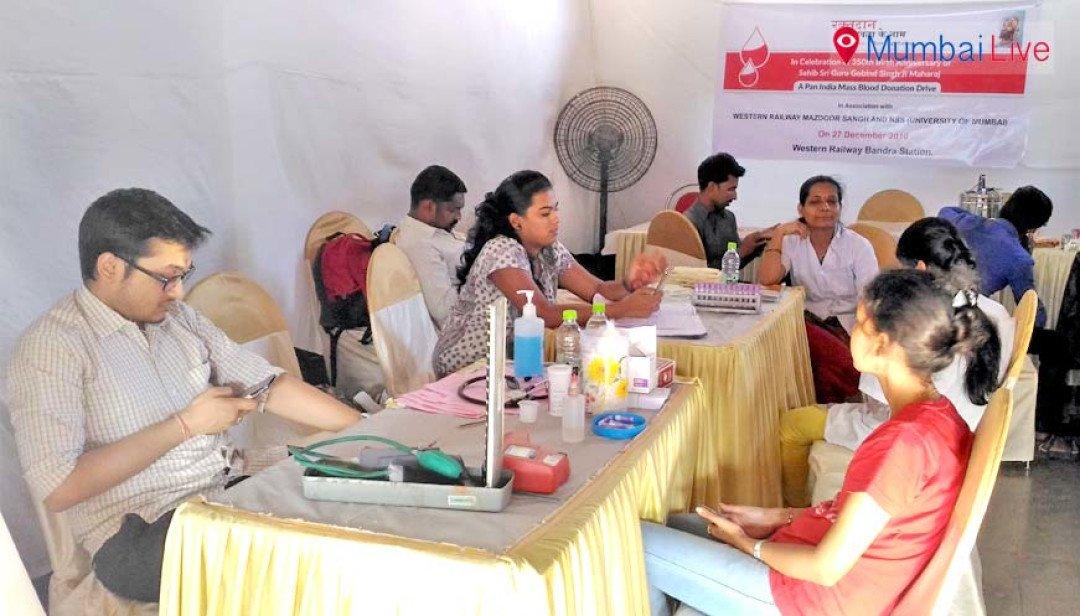 WR organises blood donation