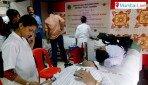 रक्तदान शिविर का आयोजन।
