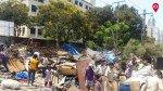 रेलवे पुलिस की कार्रवाई, ध्वस्त हुए सैकड़ों झोपड़े
