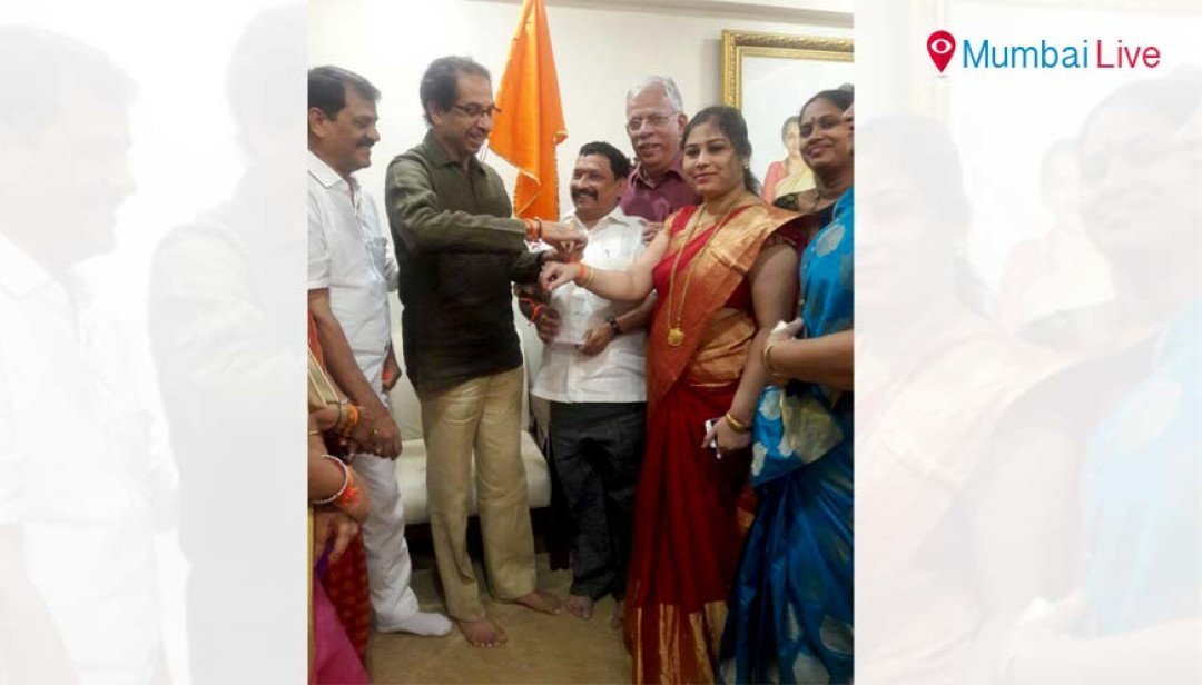 NCP corporator enters Shiv Sena