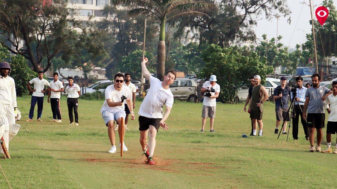 ब्रेट ली बनला कोच, मुंबईतल्या खेळाडूंना दिले क्रिकेटचे धडे!