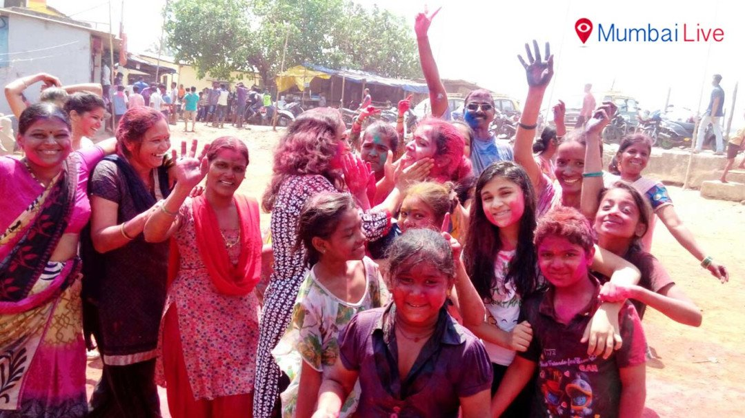 Colourful Mumbai celebrates Holi