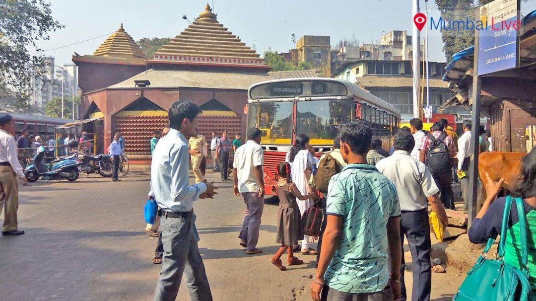 Bus crushes man to death at Dadar's Kabutarkhana