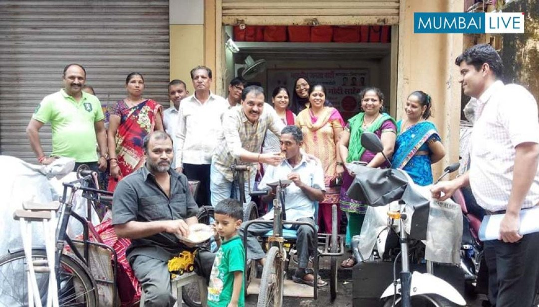 BJP dedicates Seva Day to physically challenged