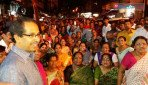 Uddhav pledges saffron for city
