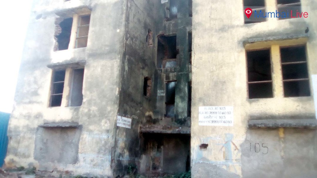 Dilapidated buildings- A hotbed for anti-social elements