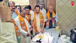 Why didn't CM cut the cake?