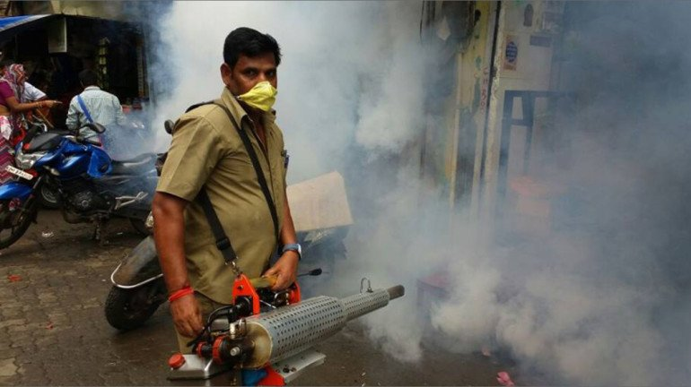 NMMC officials visit houses to destroy mosquito breeding spots