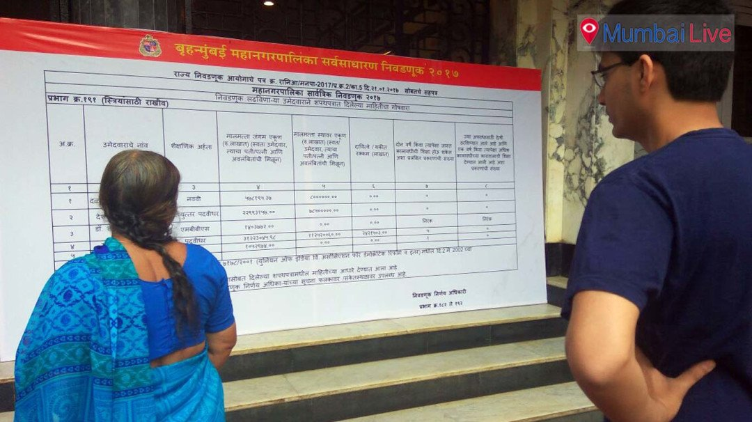 EC puts up candidate info outside polling centres