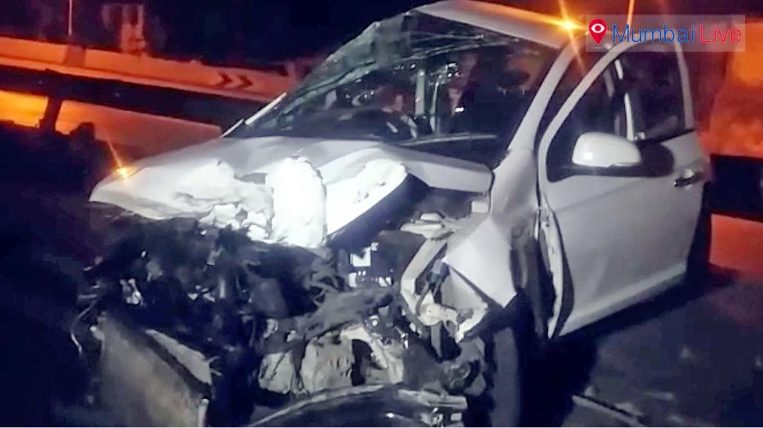 Fast cars, speed and a near fatal accident on the Western Express highway