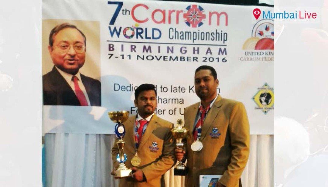 विश्व कैरम प्रतियोगिता में प्रशांत ने मारी बाजी