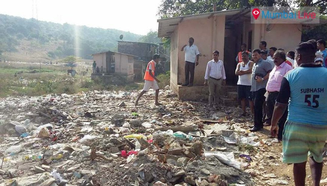 Cleanliness drive in Janupada