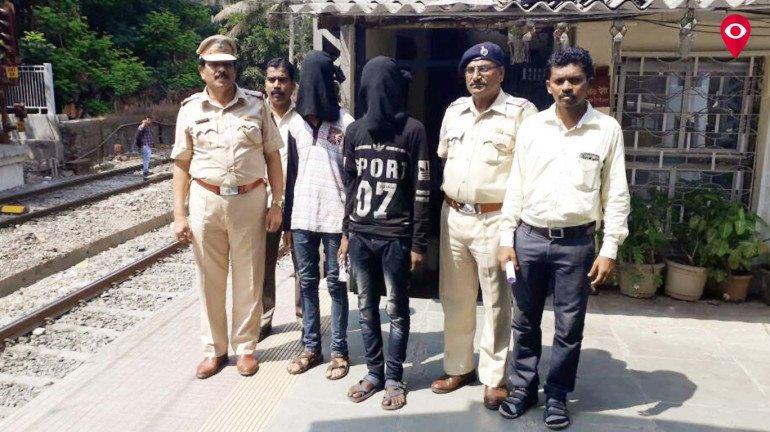Wadala GRP arrest two chain-snatchers