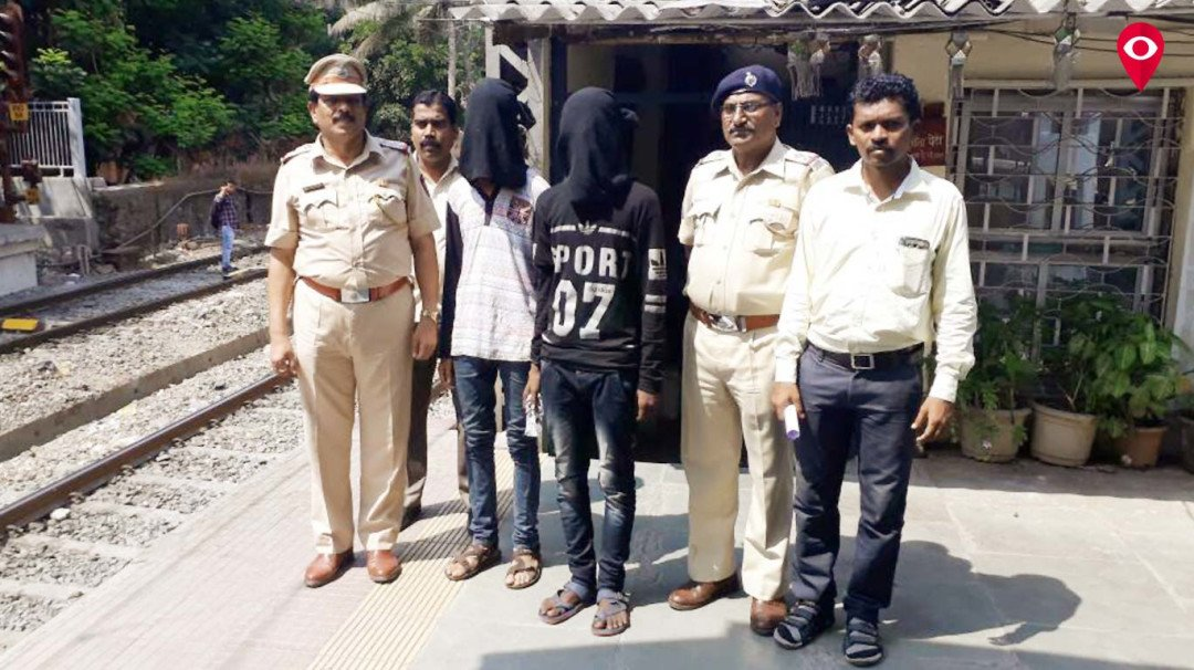 Wadala GRP arrest two chain-snatchers
