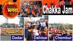 Maratha morcha throws traffic off track