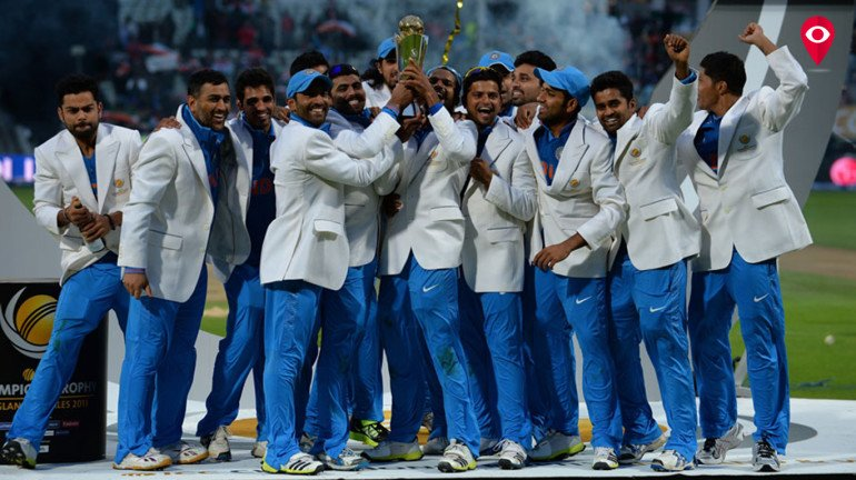 Rohit Sharma and Ajinkya Rahane in ICC Champions Trophy Squad