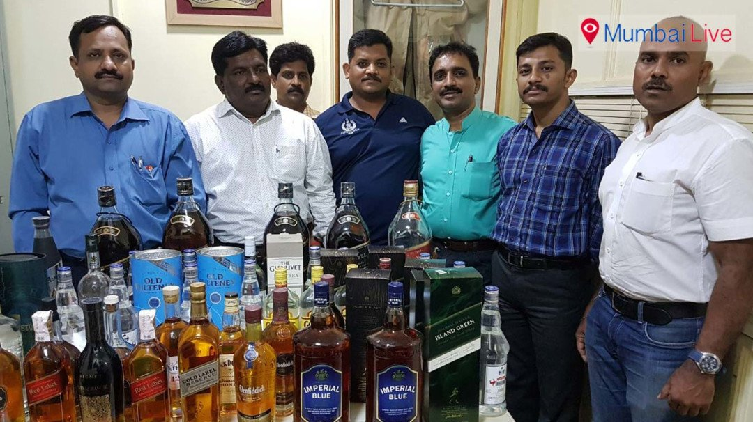 Mumbai Excise Department seizes bogus liquor worth Rs 5 lakhs