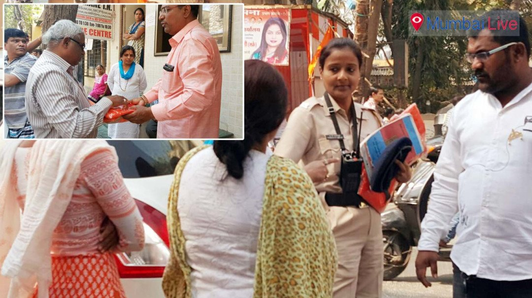Caught distributing sarees, Sena workers held for breach of Code