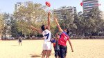 Australian football comes to Girgaum Chowpatty