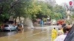 Gas pipeline burst outside petrol pump in Chembur