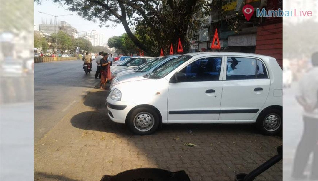 Illegal Parked Cars triggers Problem