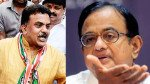P Chidambaram reaches Mumbai for BMC election campaigning