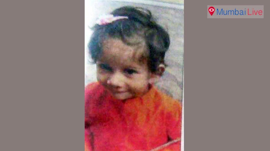 चौथे महले से गिरकर 2 साल की बच्ची की मौत