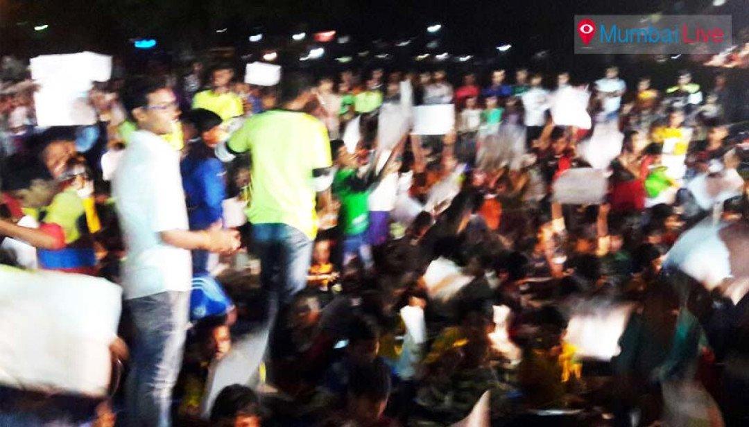 शिवसेना ने बेघर बच्चों संग मनाया बालदिवस