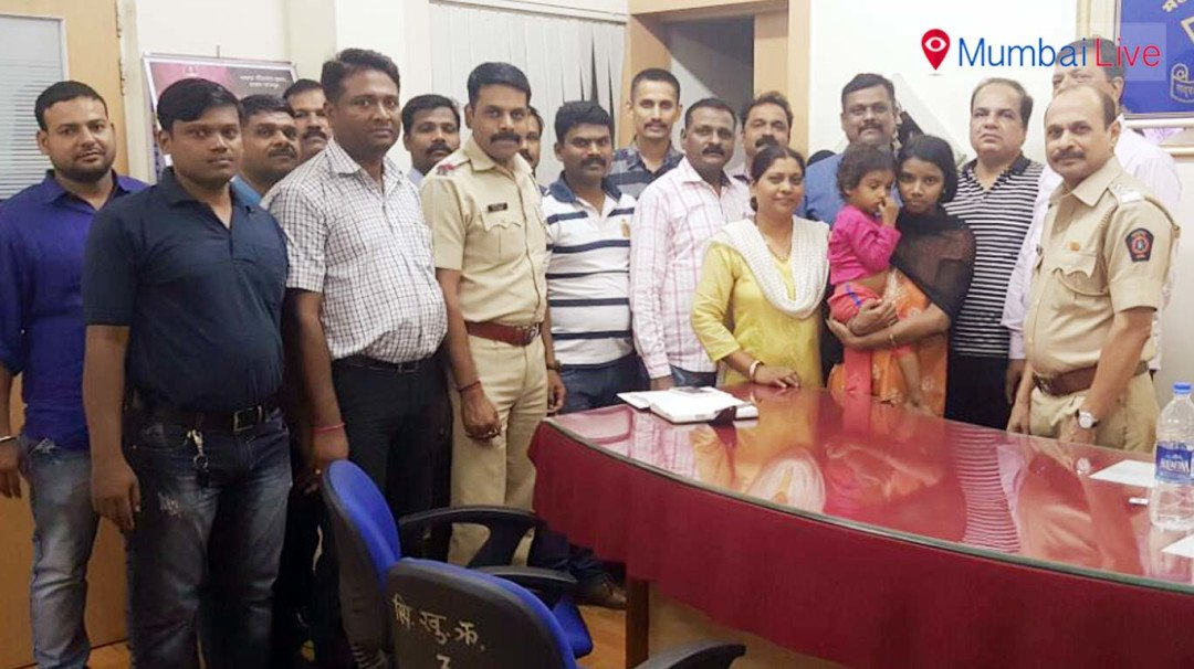 Powai police rescues a three-year-old child from kidnappers