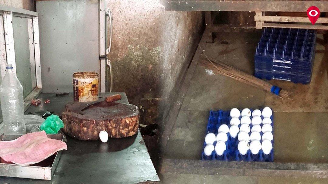 मालाड में मिला नकली अंडा?