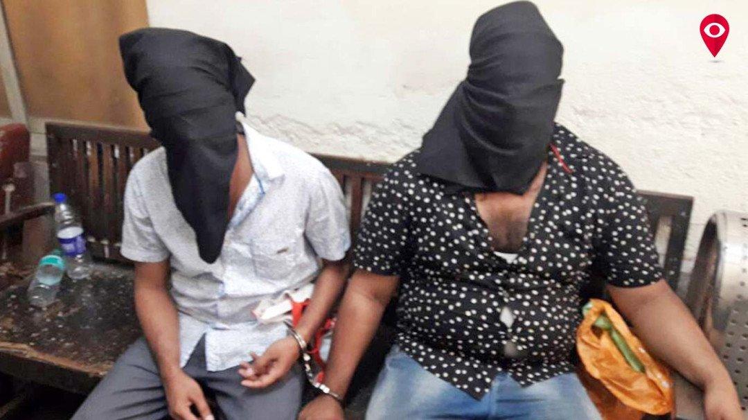जहरखुरानी गैंग के दो सदस्य गिरफ्तार, एक फरार
