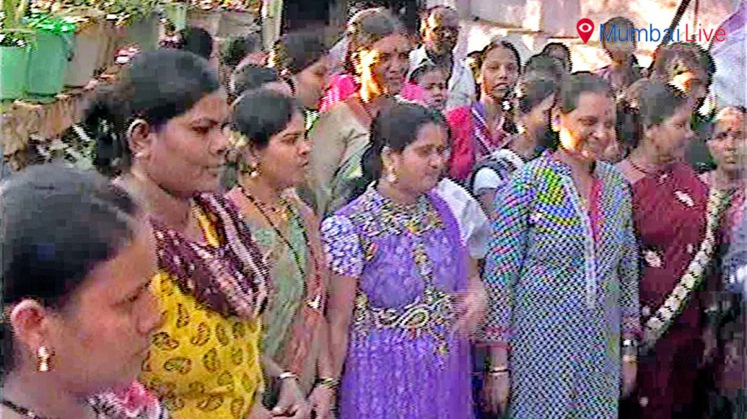 चुनावी मंथन के लिए चित्रा वाघ का दौरा