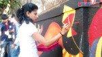 चित्रातून स्वच्छ आणि सुंदर भारताचा संदेश