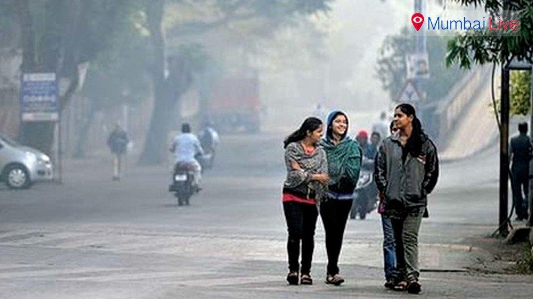 ठंडी हवाओं से सिहरी मुंबई