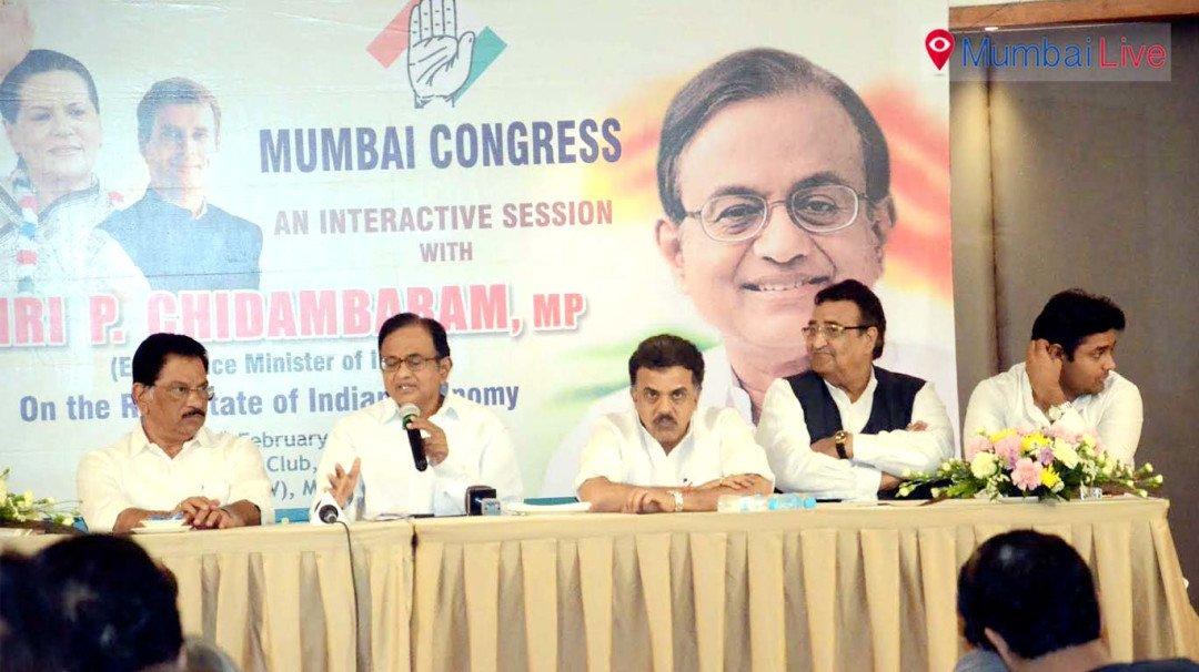 P Chidambaram slams Shiv Sena, BJP
