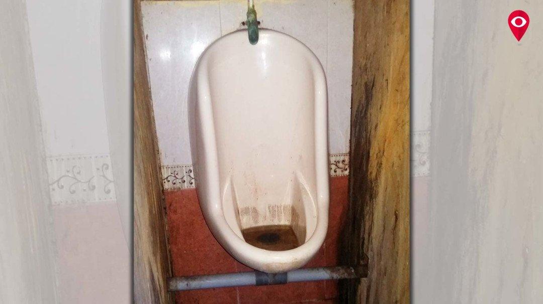 बोरीवली कोर्ट के शौचालय की दुर्दशा