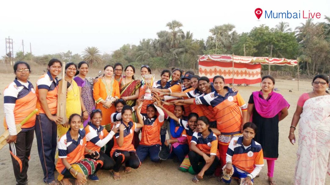 पालघर में महिला क्रिकेट संपन्न
