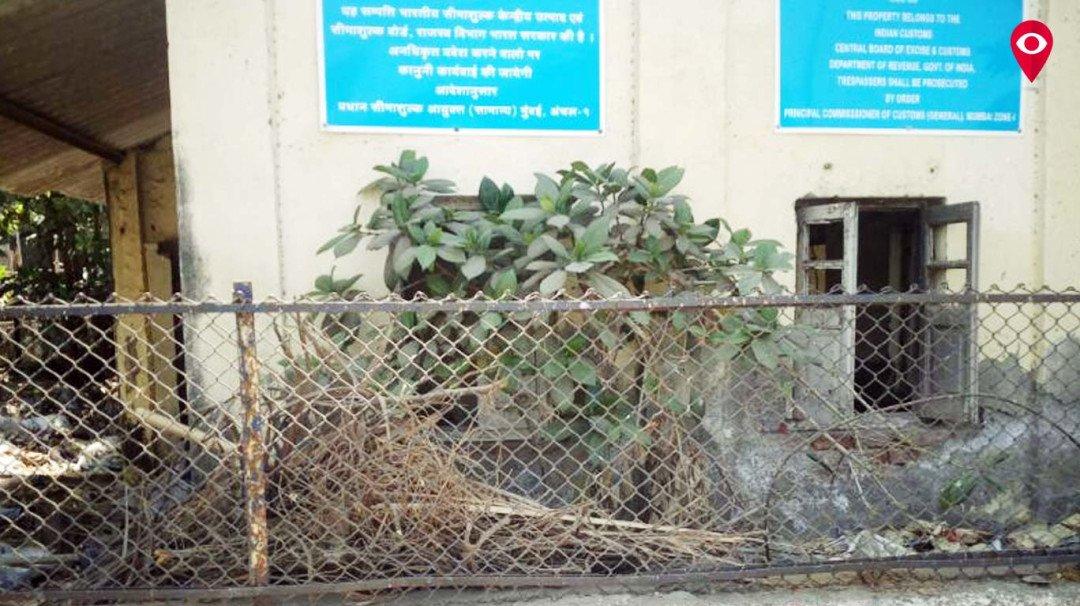 Mahim Custom House in shambles