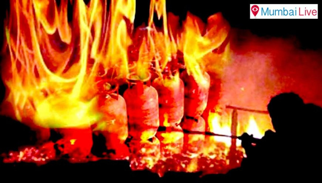 प्रभादेवी परिसरात इमारतीला आग