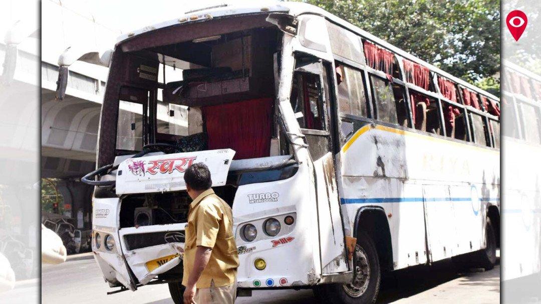 दादर टीटी परिसरात बस अपघात; 35 जखमी, एकाचा मृत्यू