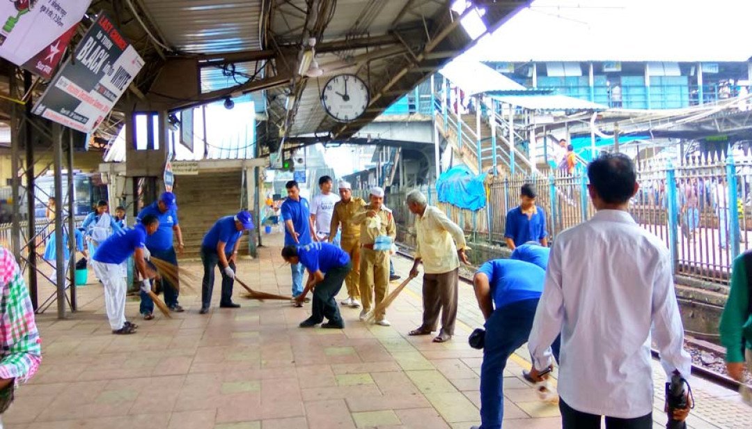 Sant Nirankari cleaned up Dadar
