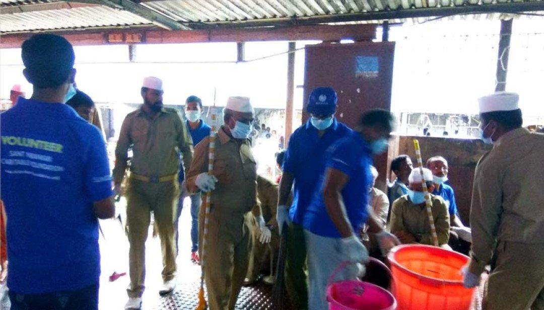 Sant Nirankari cleaned up Dadar