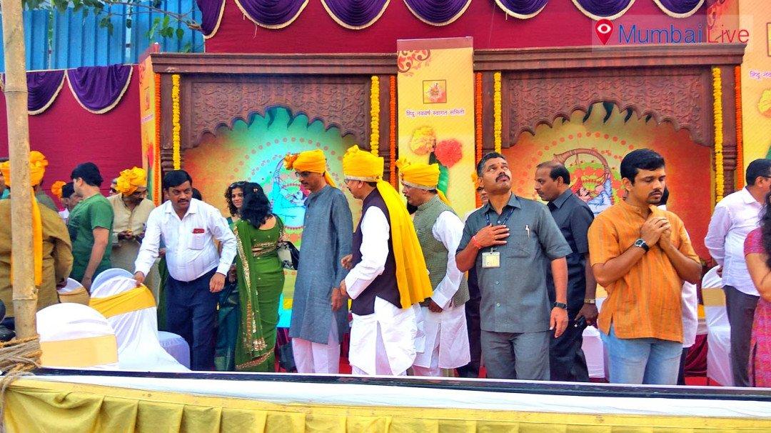 हिंदू नववर्ष स्वागत समितीची गुढी