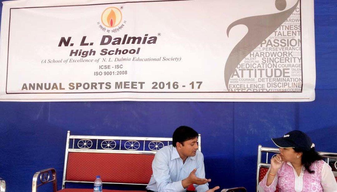 N L Dalmia's annual sports meet in Kandivali