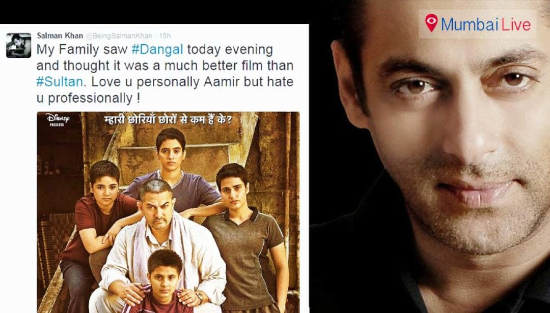 Sallu tweets, Aamir retweets, with love