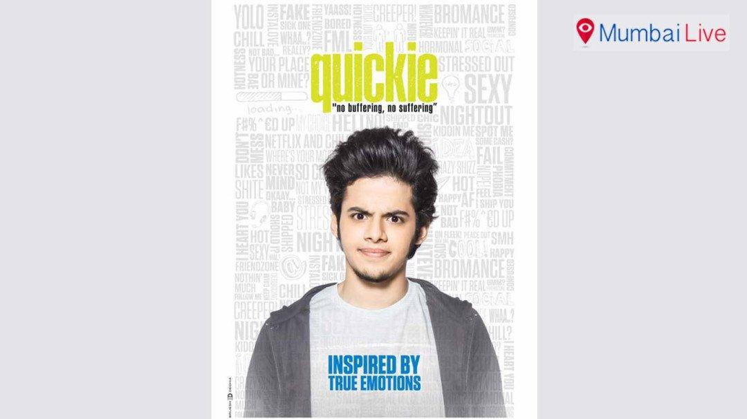 Darsheel's 'Quickie' look