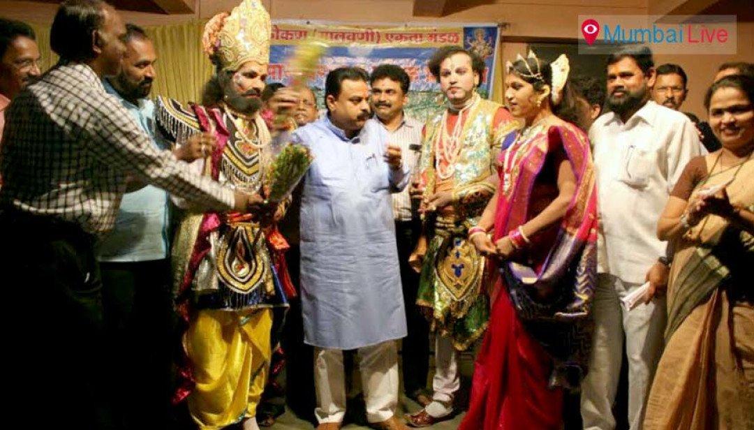 Dashavtari play staged at Anandwadi