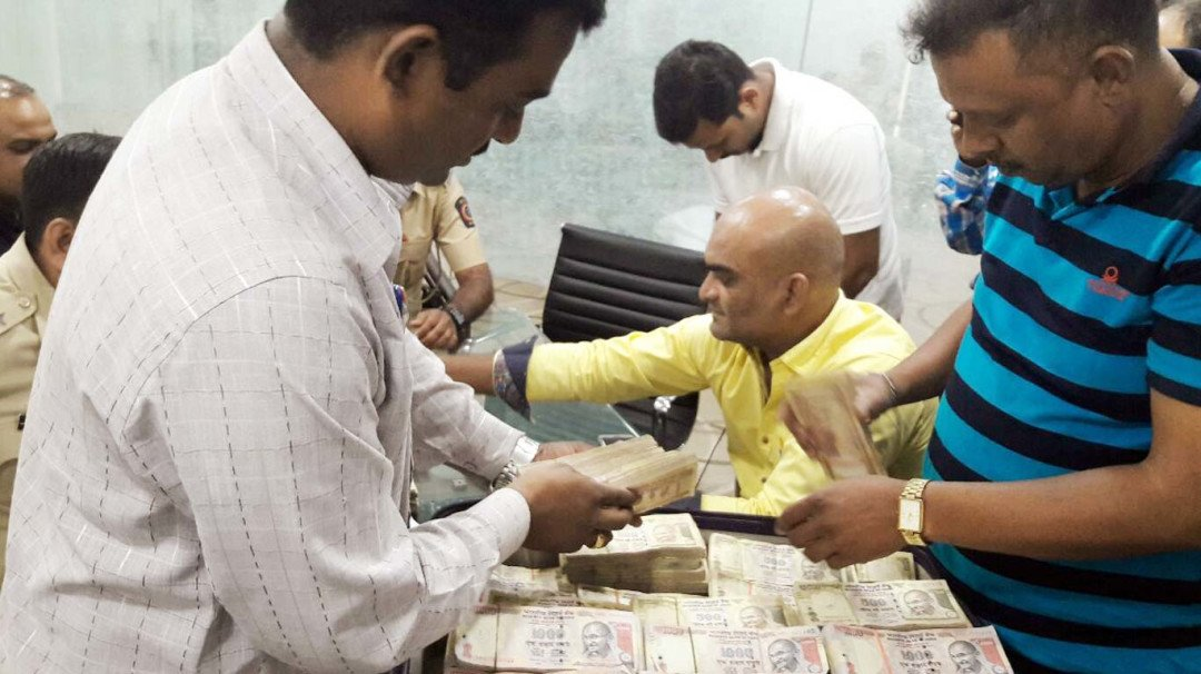 ATS seizes Rs 1.7 crore demonetised currency