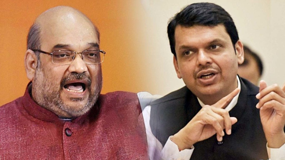 CM Fadnavis and Amit Shah discuss Maharashtra Cabinet reshuffle and Narayan Rane's induction