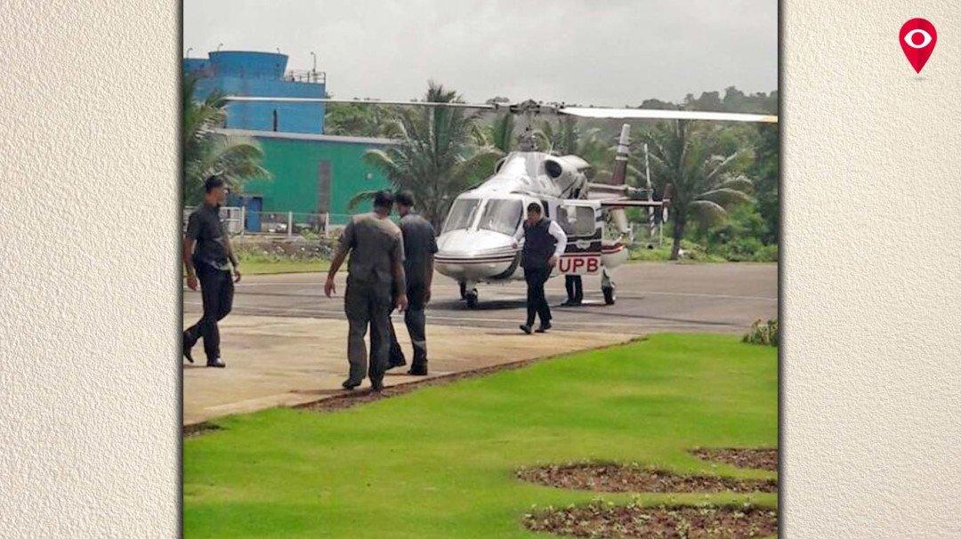 दो महीने में दूसरी बार हेलिकॉप्टर दुर्घटना से बचे सीएम फडणवीस
